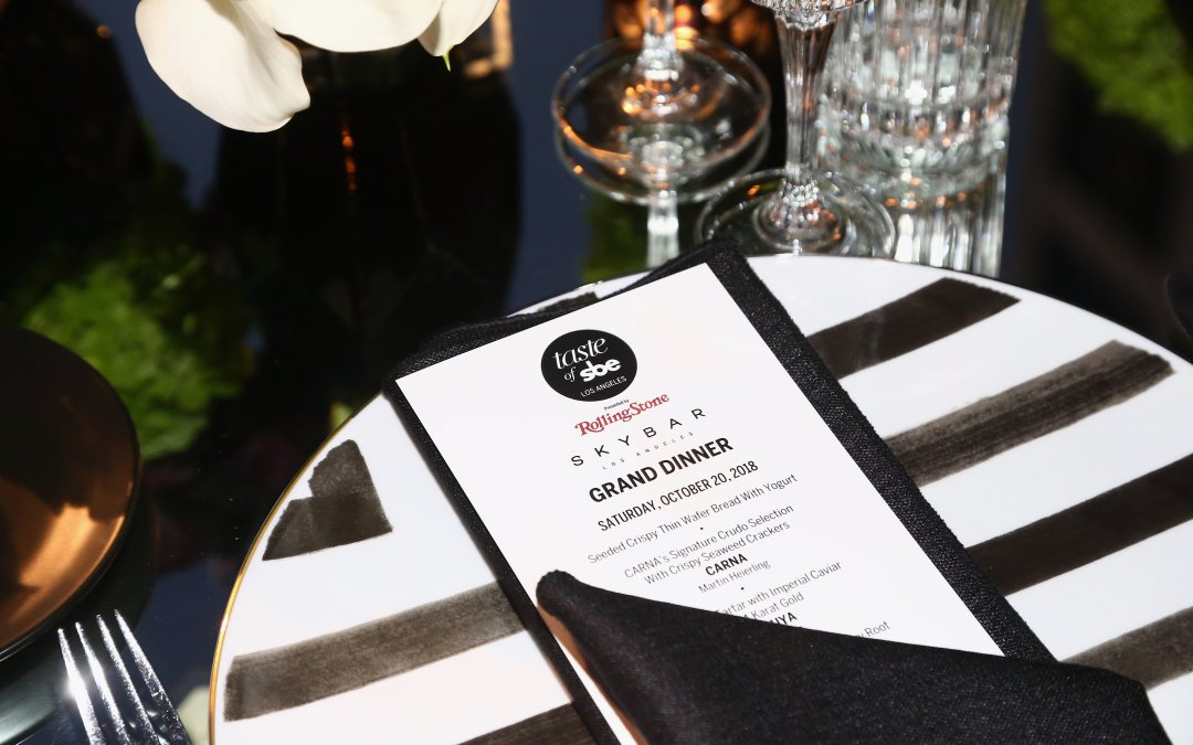 Taste of sbe Launches Successfully in LA