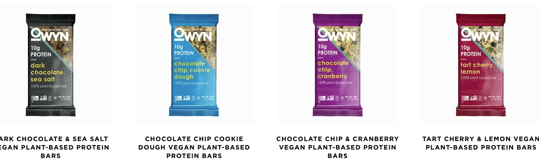 OWYN's Plant-Based Protein Bars Deliver: Only What You Need