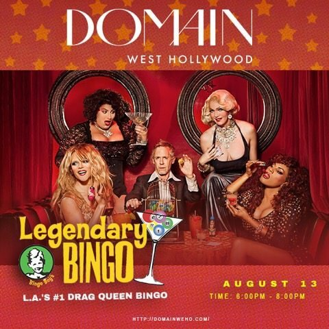 Drag Queen Bingo at DOMAIN!