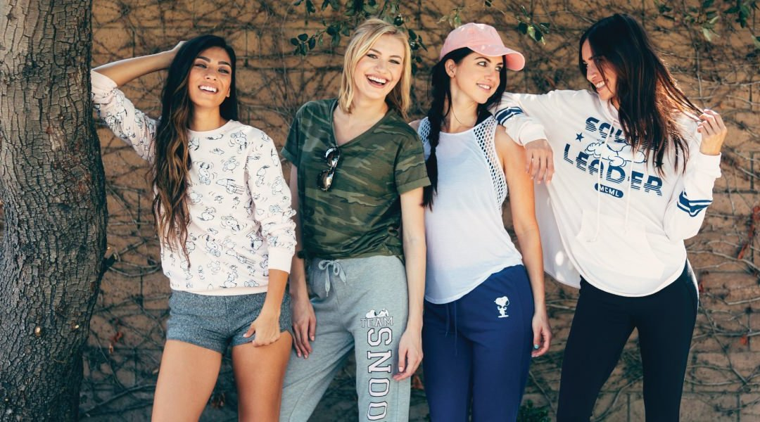 Love Tribe Launches New Peanuts Themed Athleisure Collection
