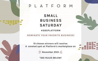 Platform LA Launches Small Business Saturday Contest