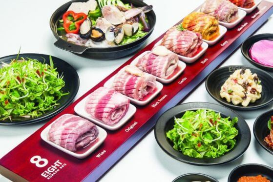 Options Galore at EIGHT Korean BBQ