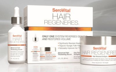 Groom + Beauty: Keeping Your Hair with SeroVital Hair Regeneres