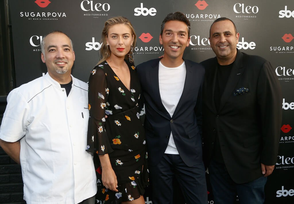 Maria Sharapova & Friends Celebrate SBE x Sugarpova at CLEO Third Street