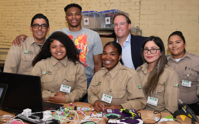NBA Superstar Russell Westbrook Launches Green Tech Program