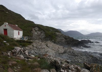 Niarbyl historical cottage