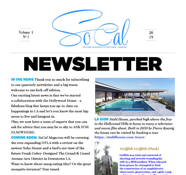 The Newsletter has arrived!