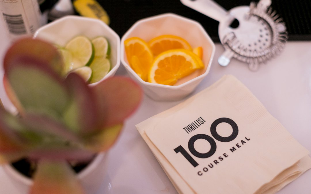 Thrillist Wraps Successful 100 Course Meal