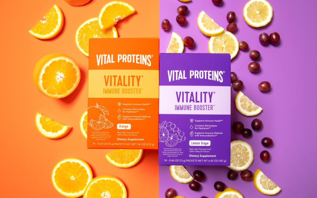 Vital Proteins Launches Vitality Immune Booster to Help Keep Your Health in Check