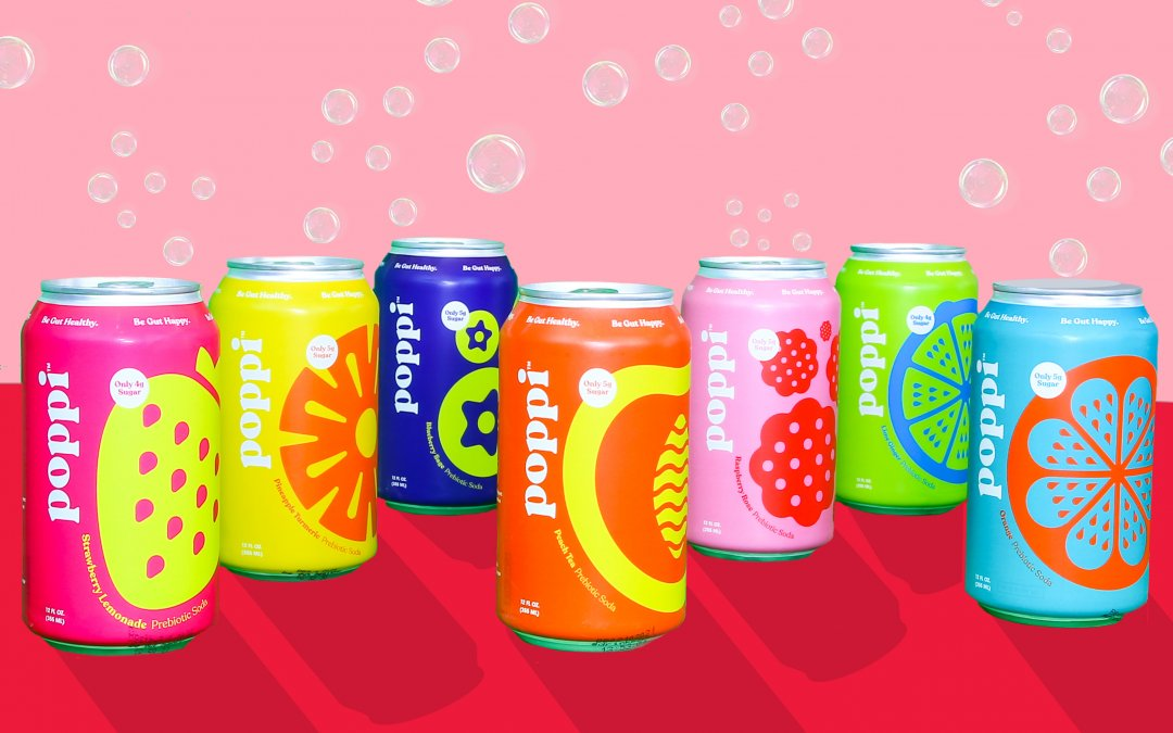 Poppi Fizzes Up the Competition with Prebiotic Soda