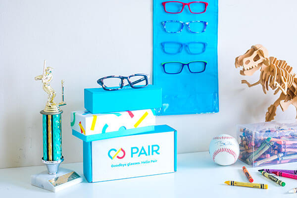 PAIR Eyewear Lights Up Inspiring Kids Eyewear