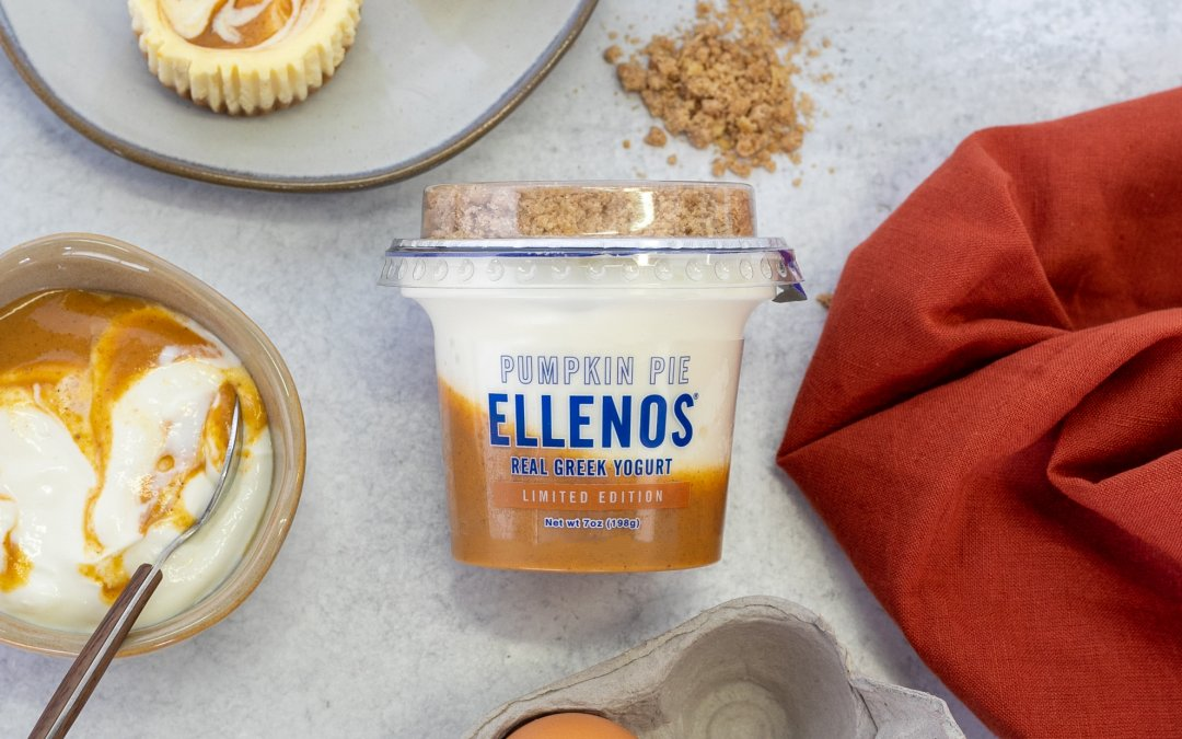 Ellenos Greek Yogurt Launches Seasonal Fall Favorite: Pumpkin Pie; PLUS a Q&A with a Co-founder