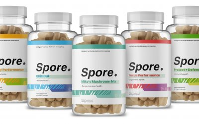 Spore Launches to Deliver Health-Boosting Mushroom Supplements