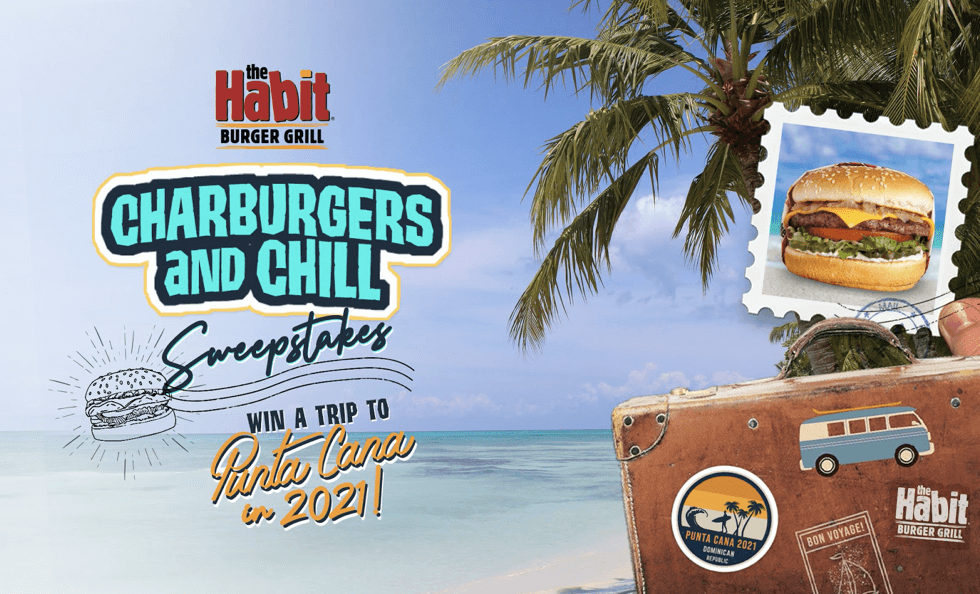 The Habit Burger Grill Has a Gift to Give: Download the App for a Chance to Win a Trip to Punta Cana in 2021