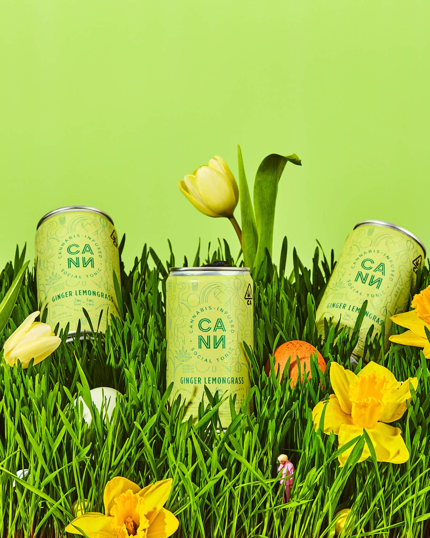 Cann Blooms a New Flavor for Spring: Ginger Lemongrass