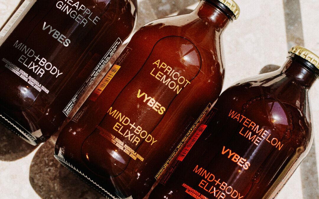VYBES Launches New Line of Adaptogenic Elixirs