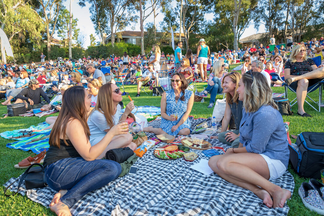 Outdoor Concerts and Films in OC